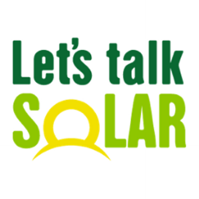 lets talk solar image