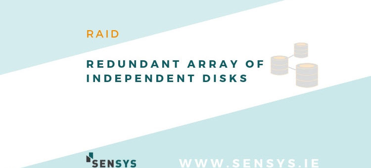 "text ""what is RAID? Redundant Array Of Independent Disks"" and SenSys logo"