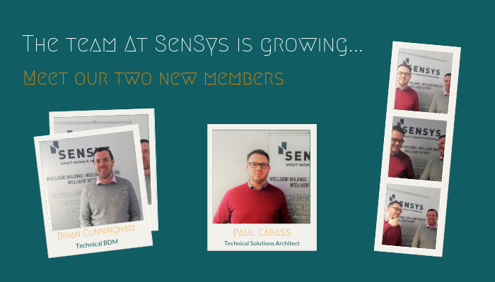 Few snapshots of Paul and Dave settling in at Sensys Technology
