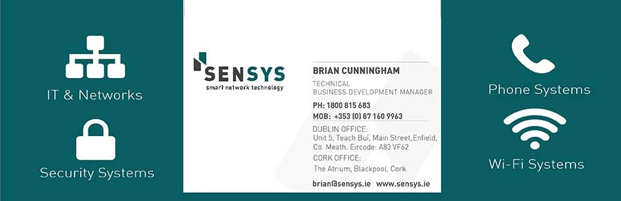 Brian Cunningham - Technical Business Development Manager - Sensys Technology