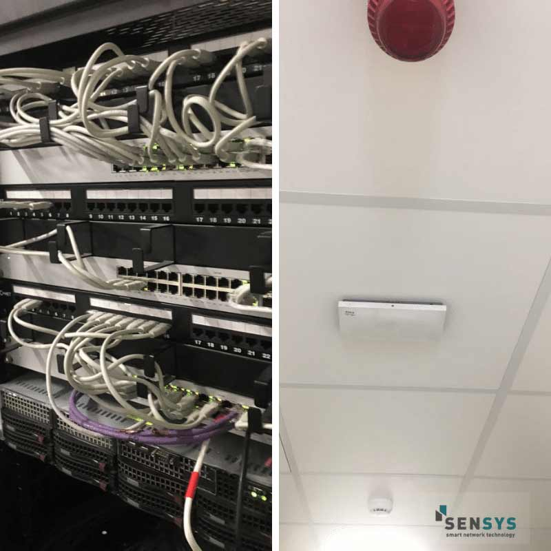 SenSys Tech Comms Cabinet & WiFi Access Point