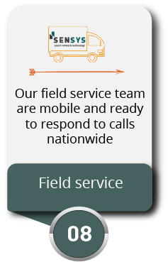 Step 8 - SenSys Tech Field Service