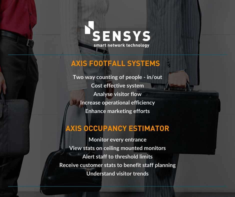 Axis Footfall Systems - Axis Occupancy Systems